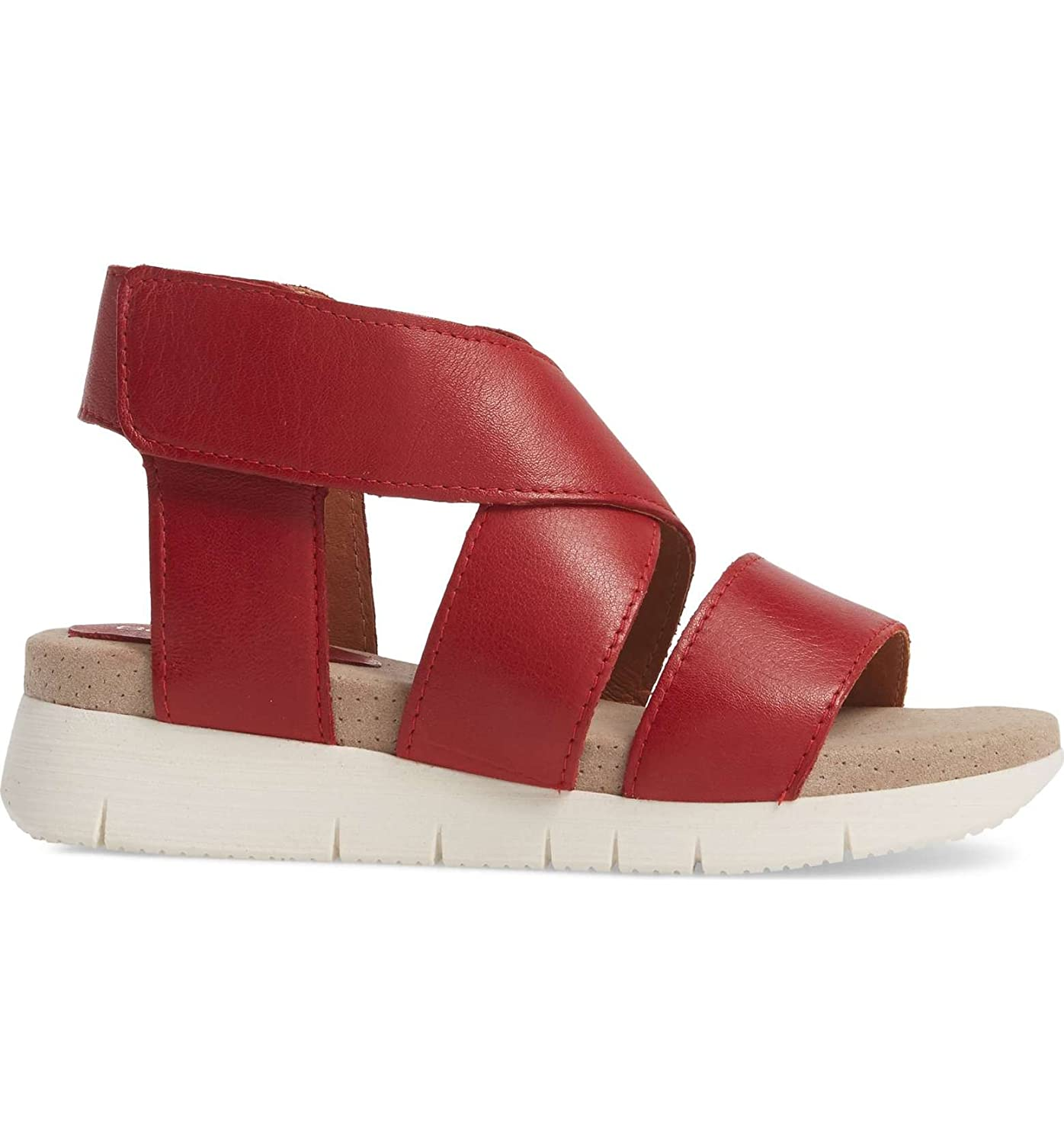 Bos. & Co. Women's Piper Sandal B075GPL4ZX 41 M EU (10 US)|Red Sauvage Leather