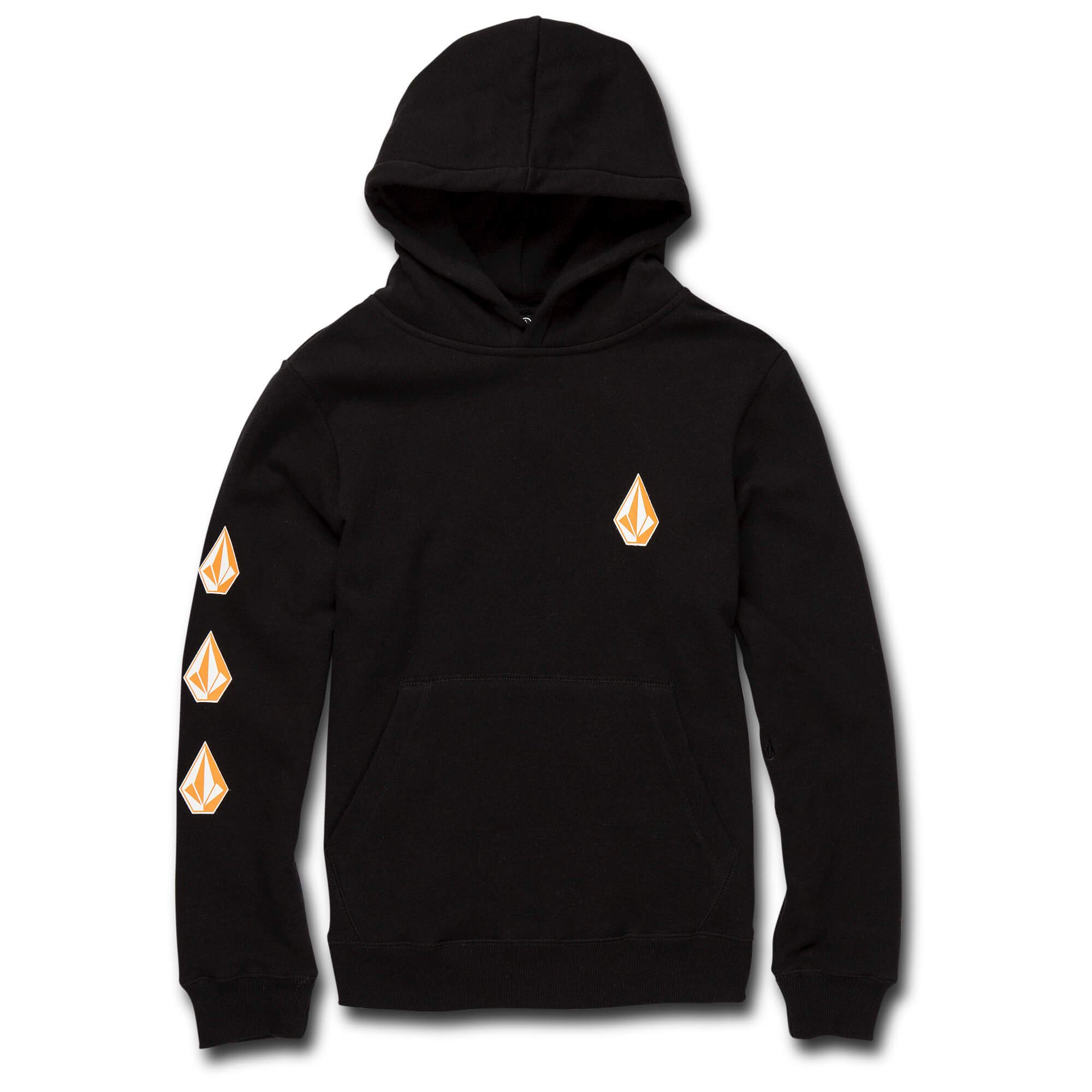 Volcom Boys Deadly Stone Basic Hooded Sweatshirt Black