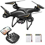 SNAPTAIN SP650 1080P Drone with Camera for Adults 1080P HD Live Video Camera Drone for Beginners w/Voice Control, Gesture Con