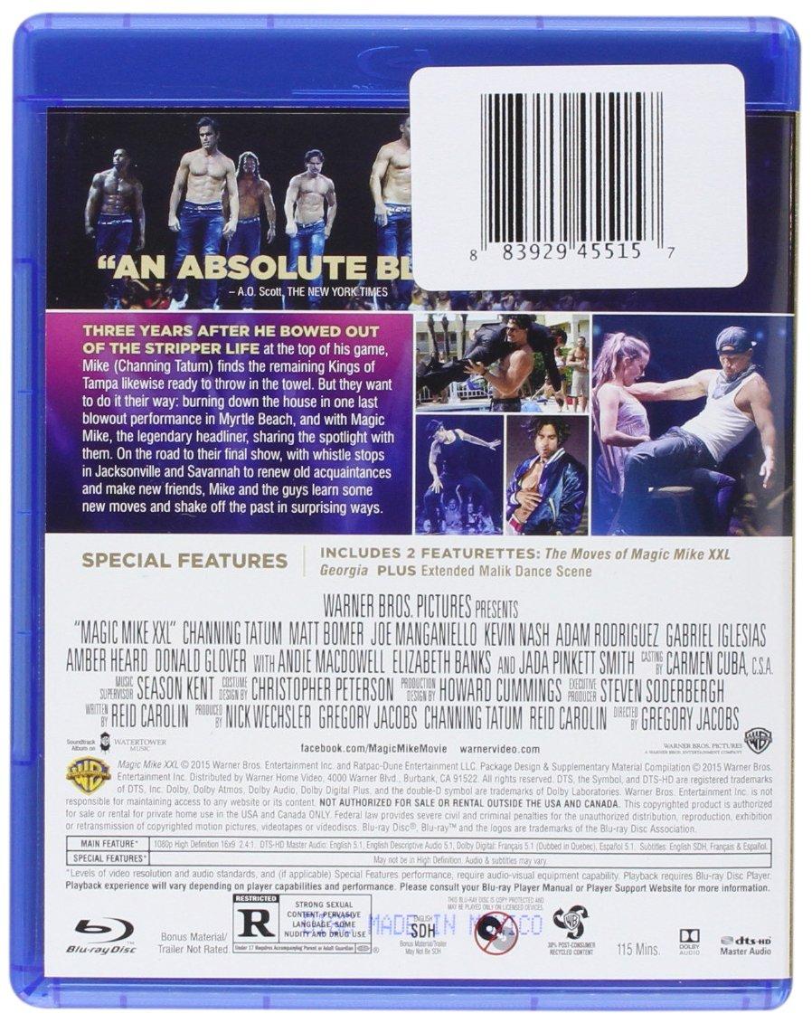 Magic Mike XXL (Blu-ray + DVD + Digital HD) [USA] [Blu-ray]