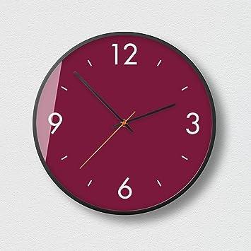 Aoligei Tamaño del Reloj Pared Digital de Color: 12 Pulgadas El Reloj de Pared Perfecto para una Oficina, salón de Clases, Dormitorio o baño: Amazon.es: ...