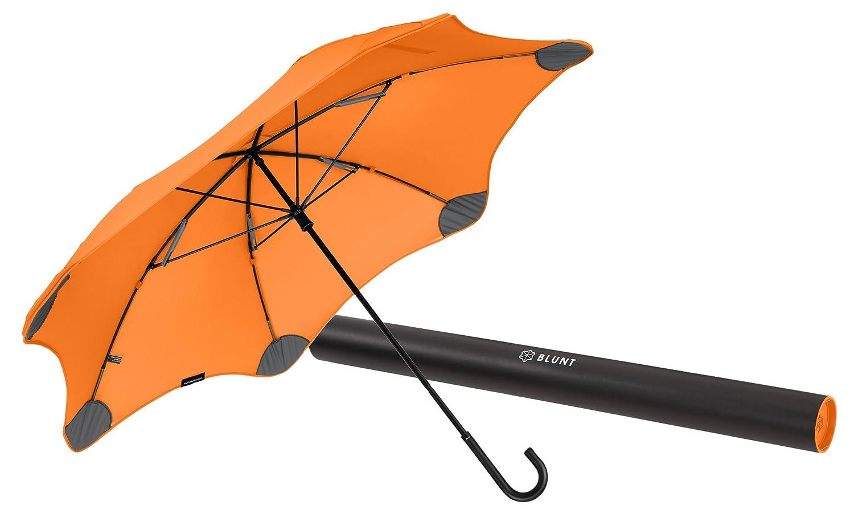 【正規輸入品】 ブラント ライト (サード ジェネレーション) カーブハンドル 全6色 長傘 手開き オレンジ 6本骨 58cm 耐風傘 A1445-52 B00TRW5I5O オレンジ オレンジ