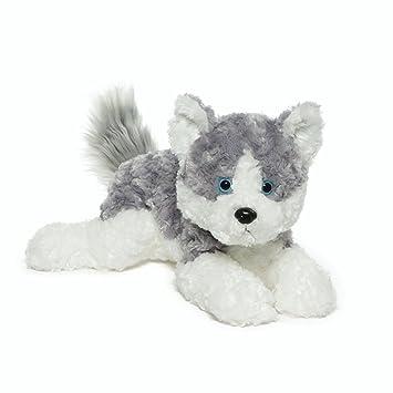Gund Blitz Husky Dog Stuffed Animal Plush Gray And White 14