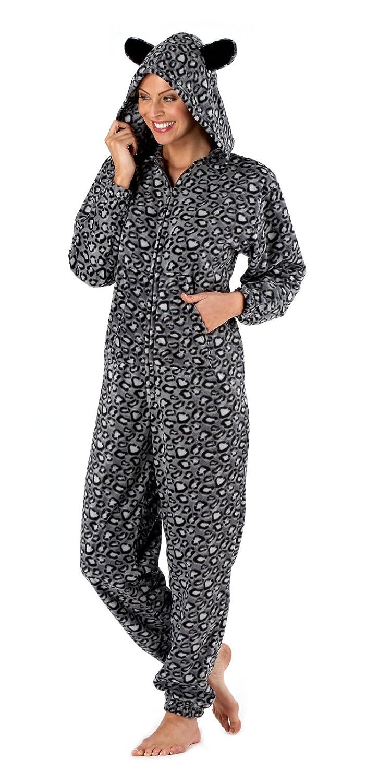 livraison gratuite 31630 92880 Primark Essentials Pyjama combinaison à capuche en polaire ...