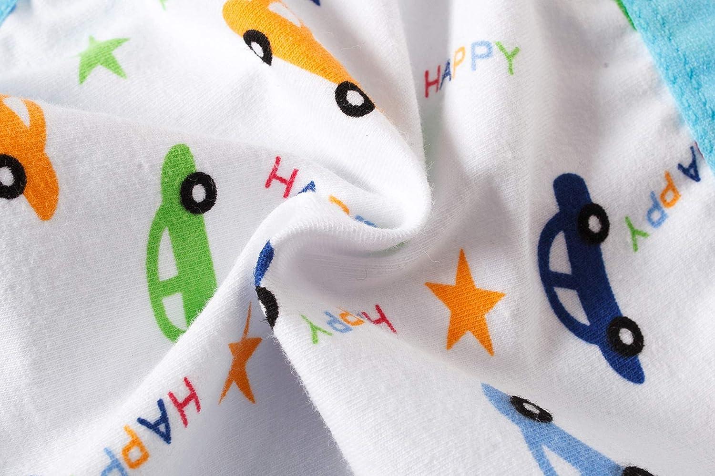 Pack of 6 Cadidi Dinos Little Boys Briefs Soft Toddler Baby Underwear