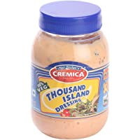Cremica Dressing - Thousand Island, 300g Bottle