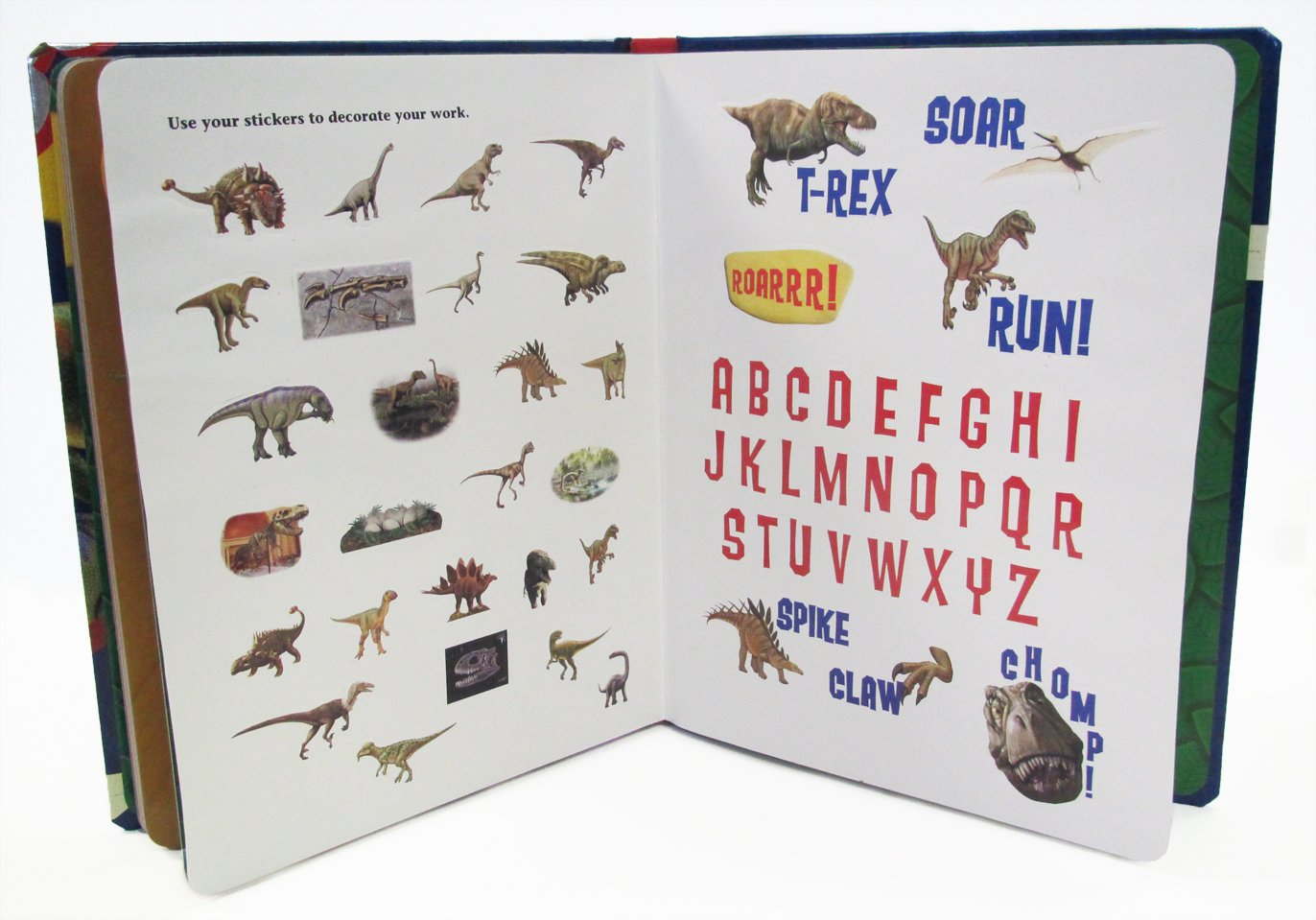 Dinosaurs Write-With-Me Alphabet - a Smithsonian Institution Writing Book (Write-on wipe-off book with marker, audio CD and easy-to-download audiobook)