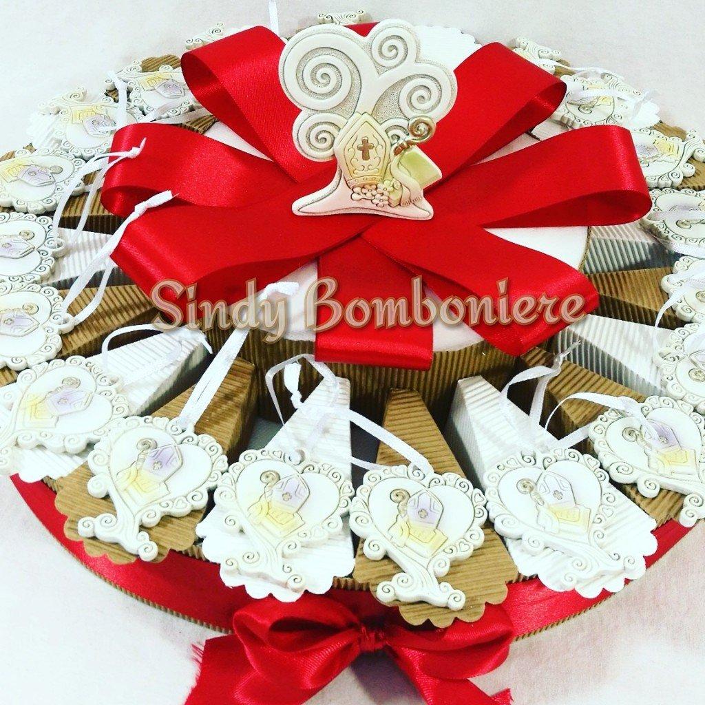 Geschenke Ideen Kuchen Konfirmation mit Anhänger Baum des Lebens + Zentrale Baum Torta Da 35 Fette + Centrale