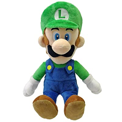 "Little Buddy Toys Luigi 16"" Plush: Toys & Games"
