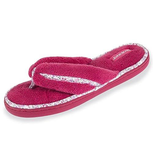 Isotoner Zapatillas chancletas Liberty para mujer 36: Amazon.es: Zapatos y complementos