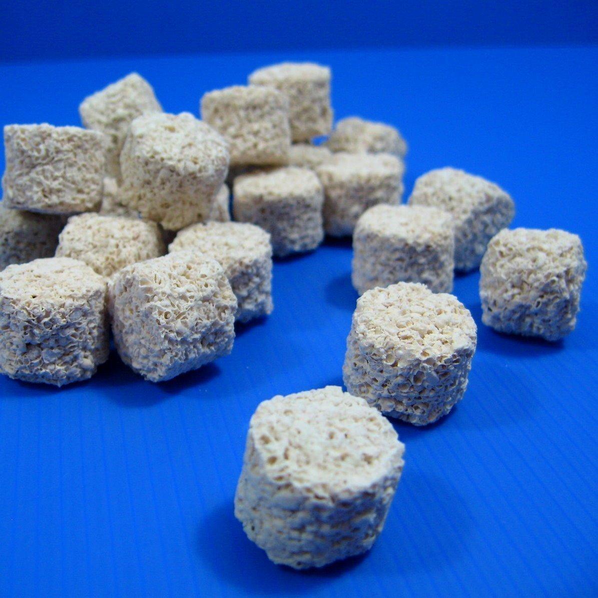 アクアリウム PH 88.4 多孔質セラミック海洋魚ろ紙1200g 水族館 塩水槽 [並行輸入品] B0734NPH88