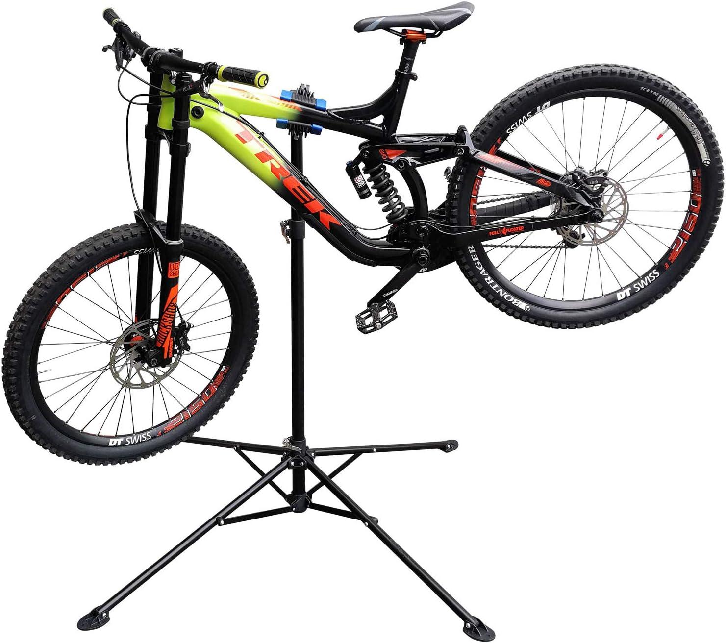 WilTec Caballete de reparación para E-Bikes & Pedelecs Rotación ...
