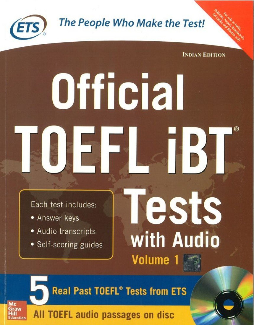 Buy Official TOEFL IBT Tests with Audio (Old Edition) Book