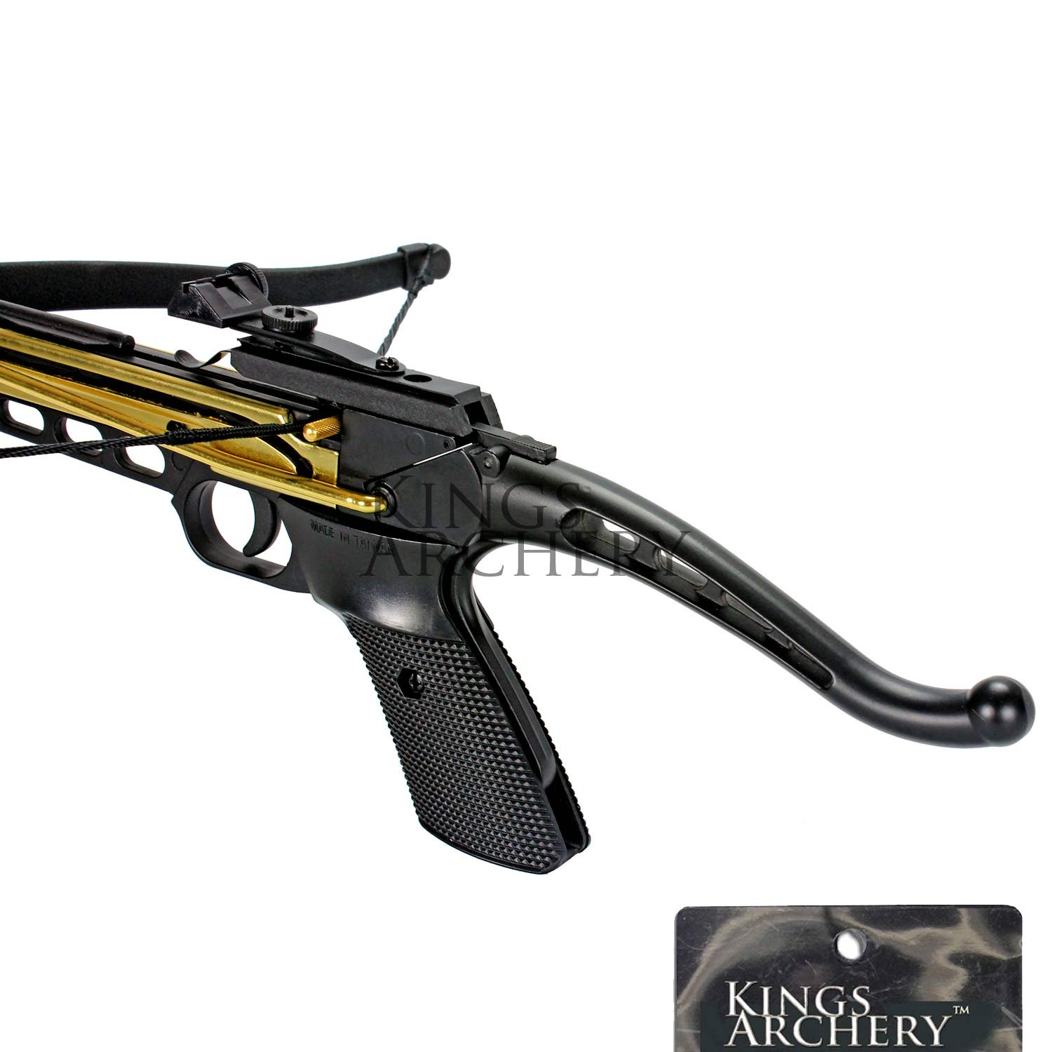Crossbow Self-Cocking 80 LBS by KingsArchery® with Hunting Scope, 3 Aluminium Arrow Bolts, and Bonus 120-pack of Colored PVC Arrow Bolts + KingsArchery® Warranty by KingsArchery (Image #5)