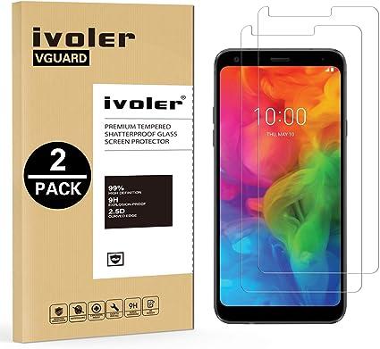 ivoler [2 Unidades] Protector de Pantalla para LG Q7 / LG Q7+ / LG ...
