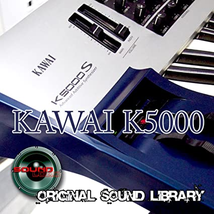 KAWAI K5000 Workstation - The best Sound of Kraftwerk - Large unique original 24bit Wave/Contacto Multi-Layer Samples/Loops Library on DVD or ...