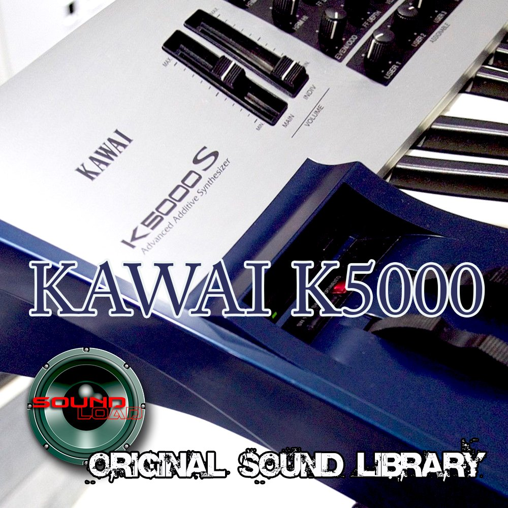 KAWAI K5000 Workstation - THE best sound of Kraftwerk - Large unique original 24bit WAVE/Kontakt Multi-Layer Samples/Loops Library. FREE USA Continental Shipping on DVD or download; by SoundLoad