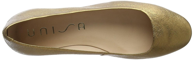 Unisa Damen Ballerinas Damenschuhe_18_se Geschlossene Ballerinas Damen Gold (Old Gold) ae4032