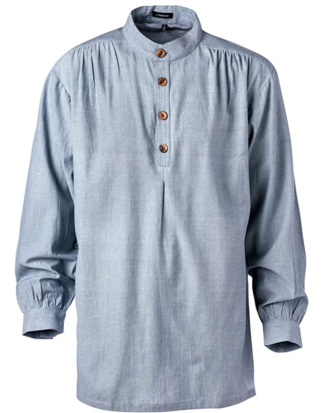 Edwardian Men's Shirts & Sweaters The J. Peterman Shirt $44.85 AT vintagedancer.com