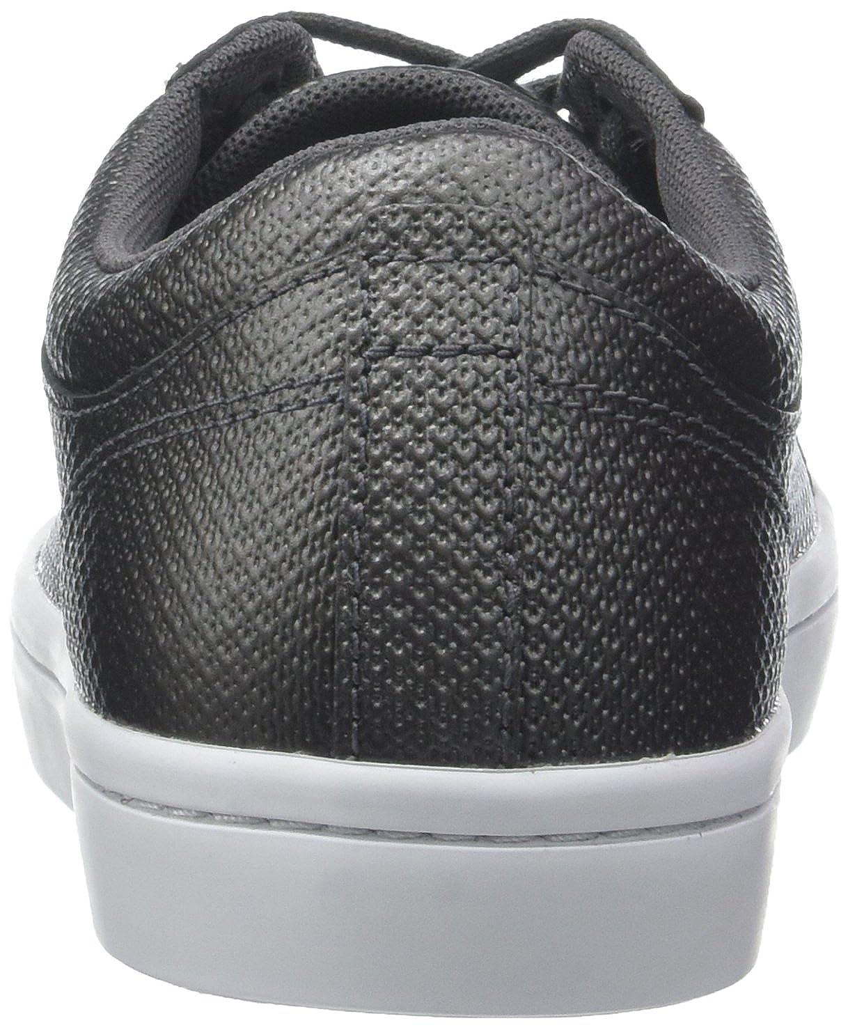 Lacoste Damen Straightset 318 2 Caw Sneaker Schwarz 312) (Blk/Wht 312) Schwarz 597546