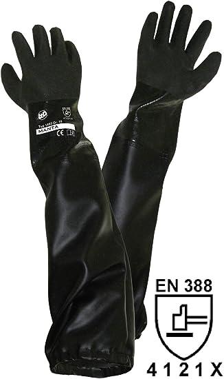 a7d98f8c4b1ba2 Unbekannt Griffy L+D 1485 PVC Sandstrahlerhandschuh Größe (Handschuhe):  Damengröße EN 388