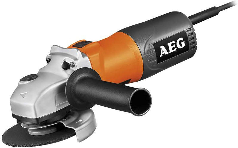 AEG AEGAA800W Amoladora 800 W - 115 mm, relé de baja tensión