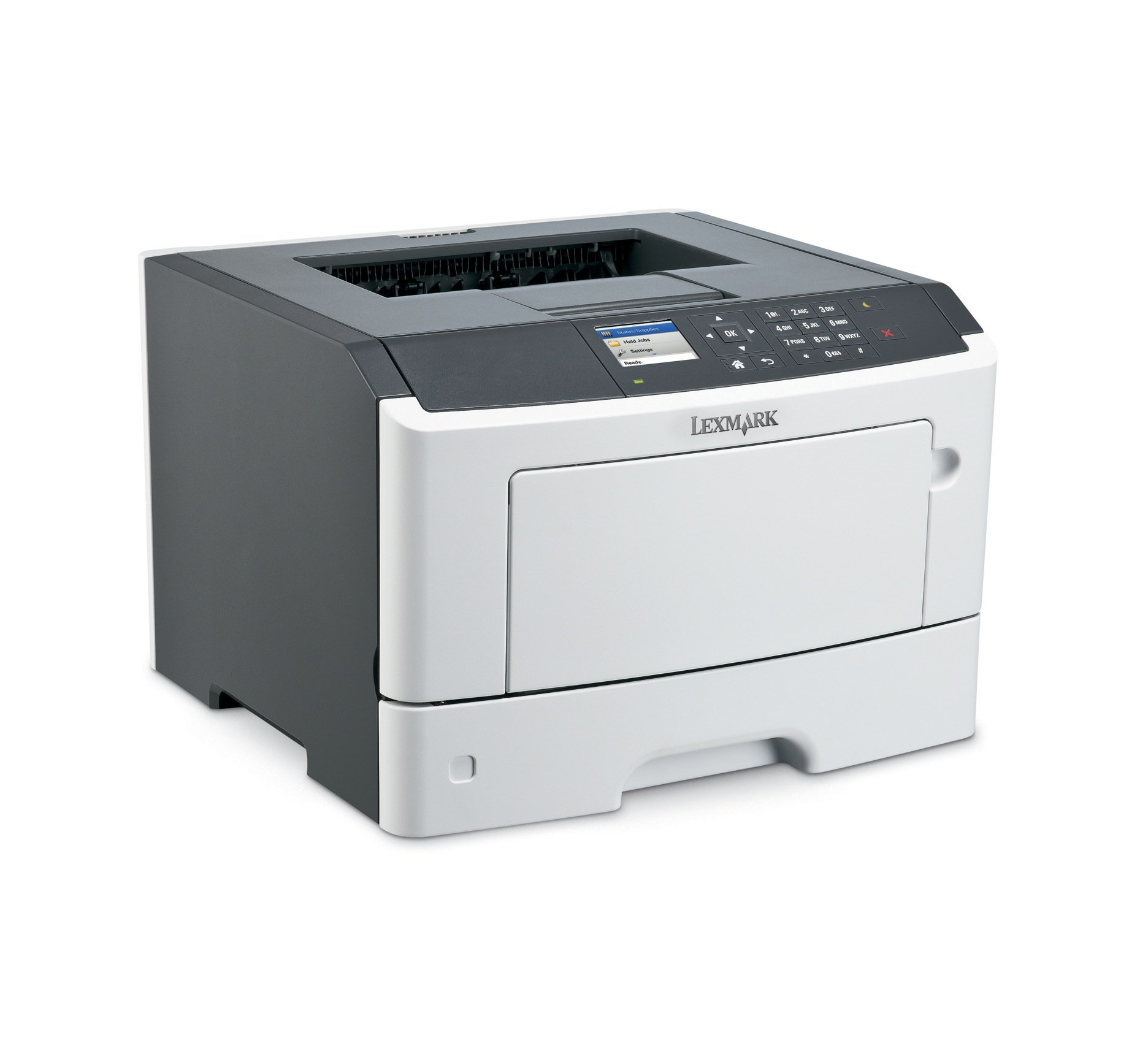 Lexmark MS417dn Compact Laser Printer, Monochrome, Networking, Duplex Printing by Lexmark