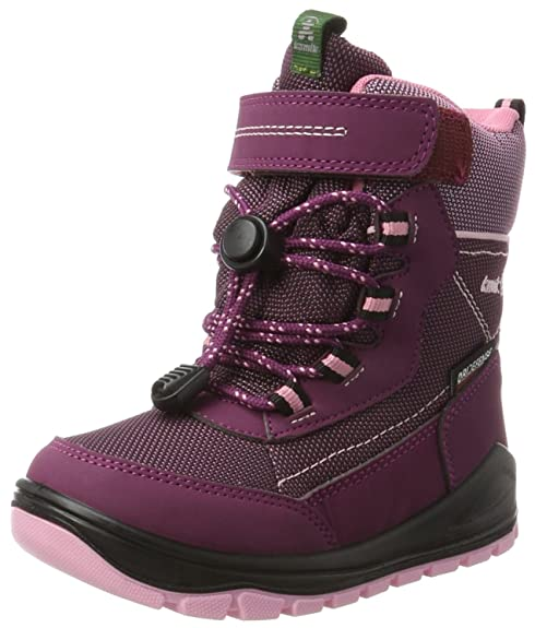 Kamik Valdis, Sneaker a Collo Alto Bambina, Violett (Plum-Prune), 24 EU