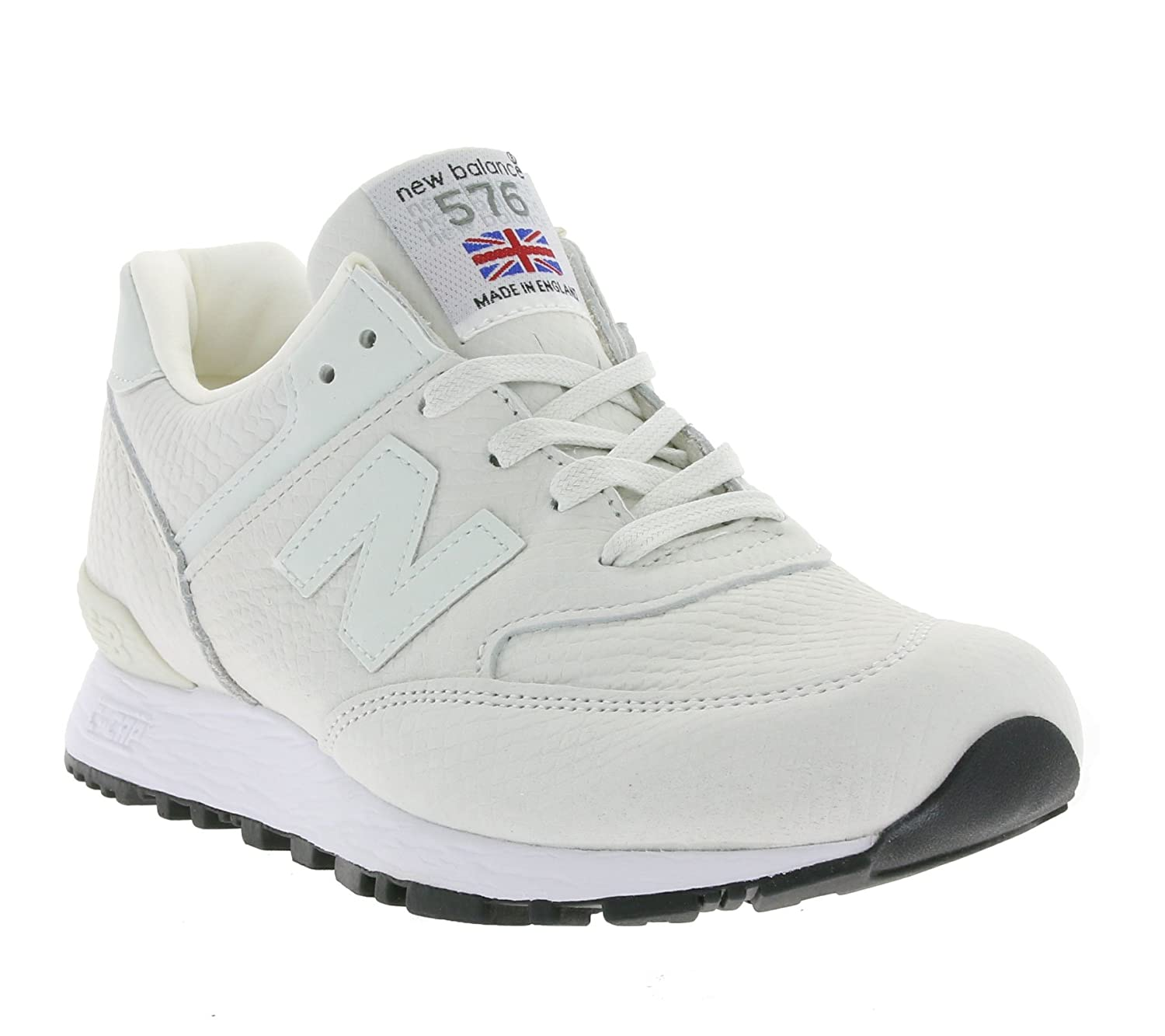free shipping 71c9b 9bdfc New Balance 576 Women's Real Leather Sneaker White W576NRW