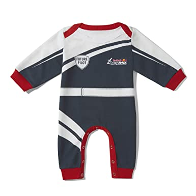 Red Bull Air Race Baby Pilot Mono, Azul niños Onesie, Air ...