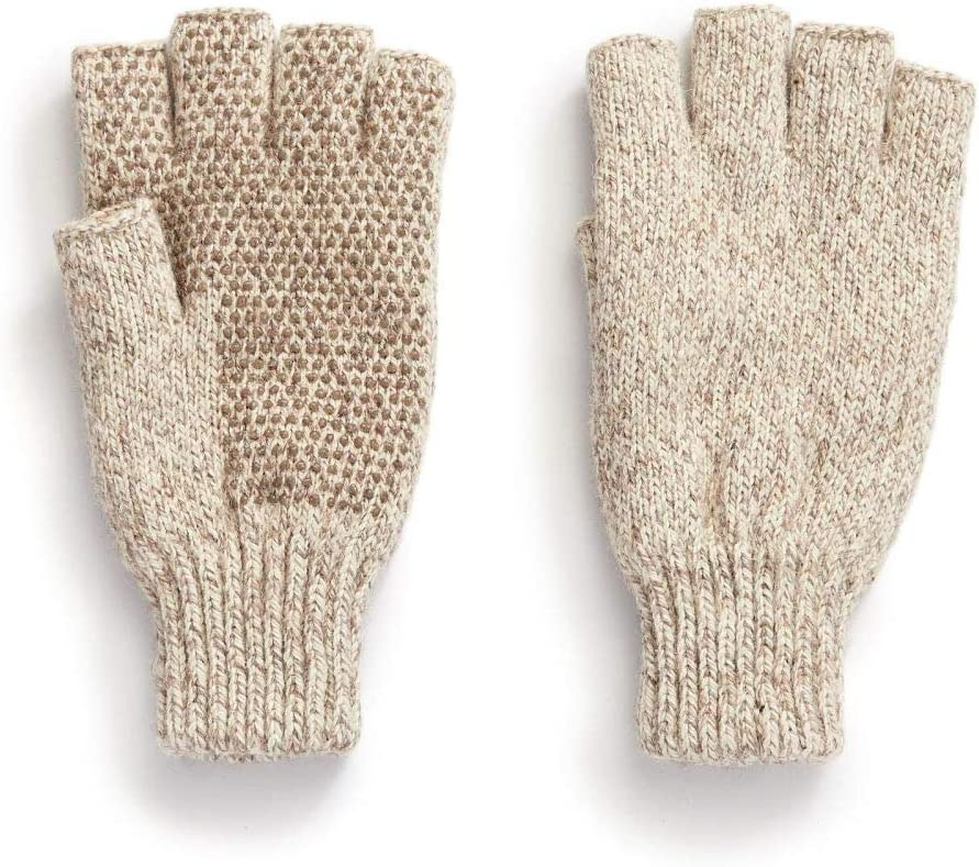 Igloos Men/'s the Sentry Mittens Oatmeal or Dark Gray One Size Free Shipping
