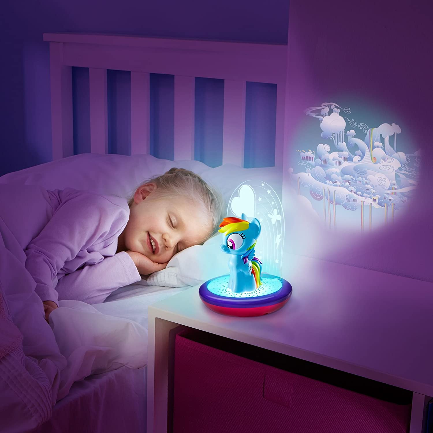 Pony Bedroom Accessories My Little Pony Magic Night Light Rainbow Dash Kids Torch And