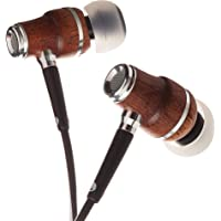 $21 Get Symphonized NRG X Sapele Wood Earbuds, Ergonomic Design in-Ear Noise-Isolating…
