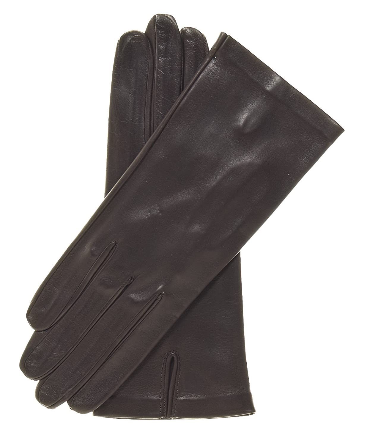 Ladies unlined leather driving gloves - Fratelli Orsini Women S Italian Unlined Leather Gloves Size 6 Color Black At Amazon Women S Clothing Store Cold Weather Gloves