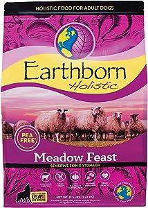 Earthborn Holistic Meadow Feast Grain-Free Natural Dry Dog Food, 12.5 lb