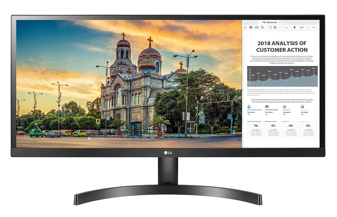 LG 29WK500-P 21: 9 Ultrawide Full HD IPS LED Monitor-27 Screen LED-LIT 14700510