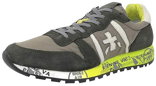 Premiata Eric 3290 U1, Zapatillas Deportivas, Hombre, Kaki: Amazon.es: Zapatos y complementos