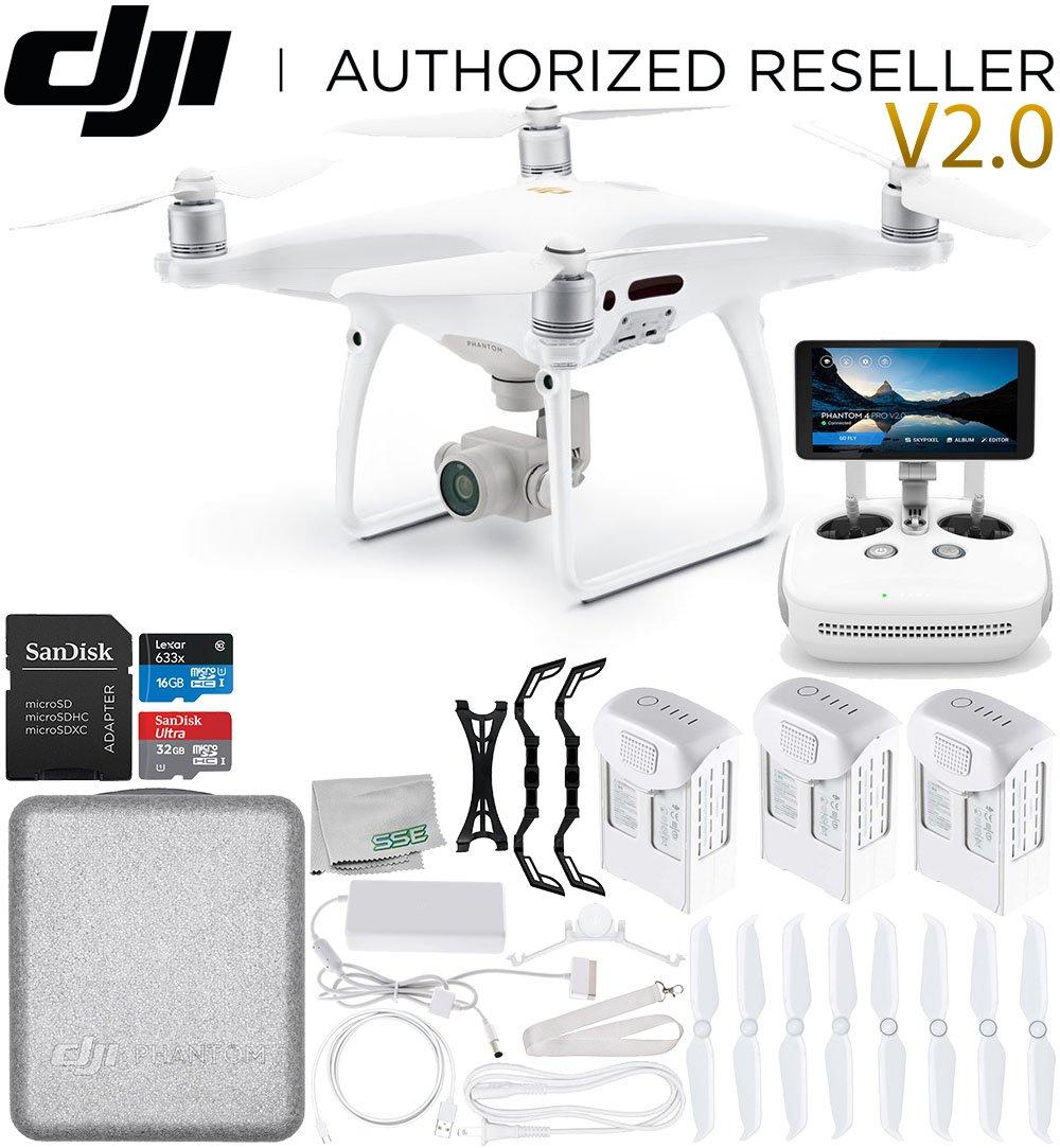 DJI Phantom 4 PRO+ Plus V2.0/Version 2.0 Quadcopter Ultimate Bundle