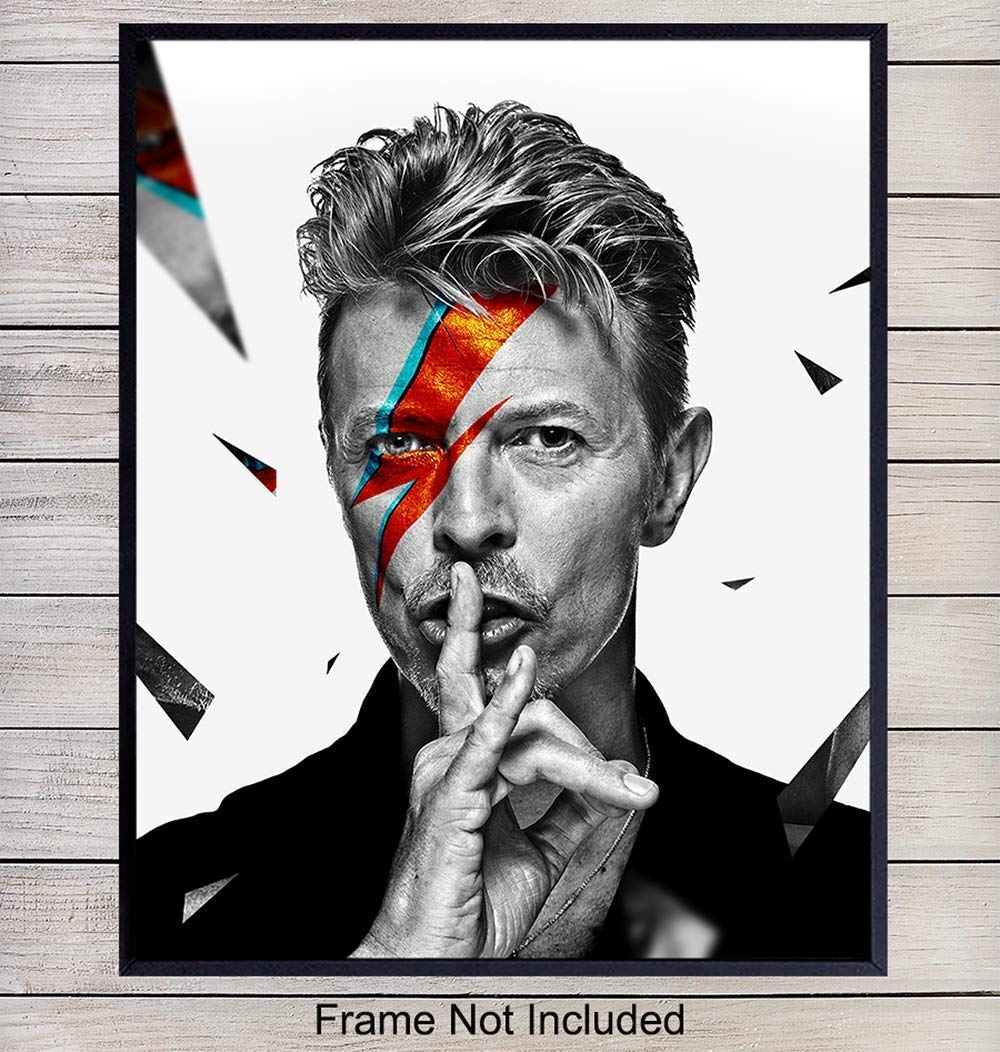 David Bowie Ziggy Stardust Inspired prints Frames Not Included