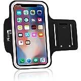 iPhone X Sportive Fascia da Braccio. Custodia Porta Telefono per corridori, allenamenti, palestra, Fitness e Sport
