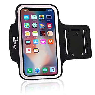 quality design 9b83c a5978 RevereSport iPhone X/XS Running Armband with Full Screen Access. Sports Arm  Phone Case Holder for Runners, Exercise, Gym Workouts & Outdoor Fitness