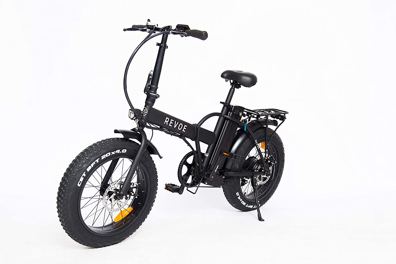 Revoe e-bike Dirt Vtc, Fat Bike Bicicleta Plegable, Negro, 20 ...