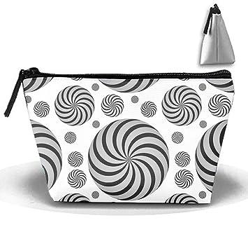 c40b0787575a Amazon.com : Twist Circles Toiletry Bag, Travel Makeup Pouch Sundry ...