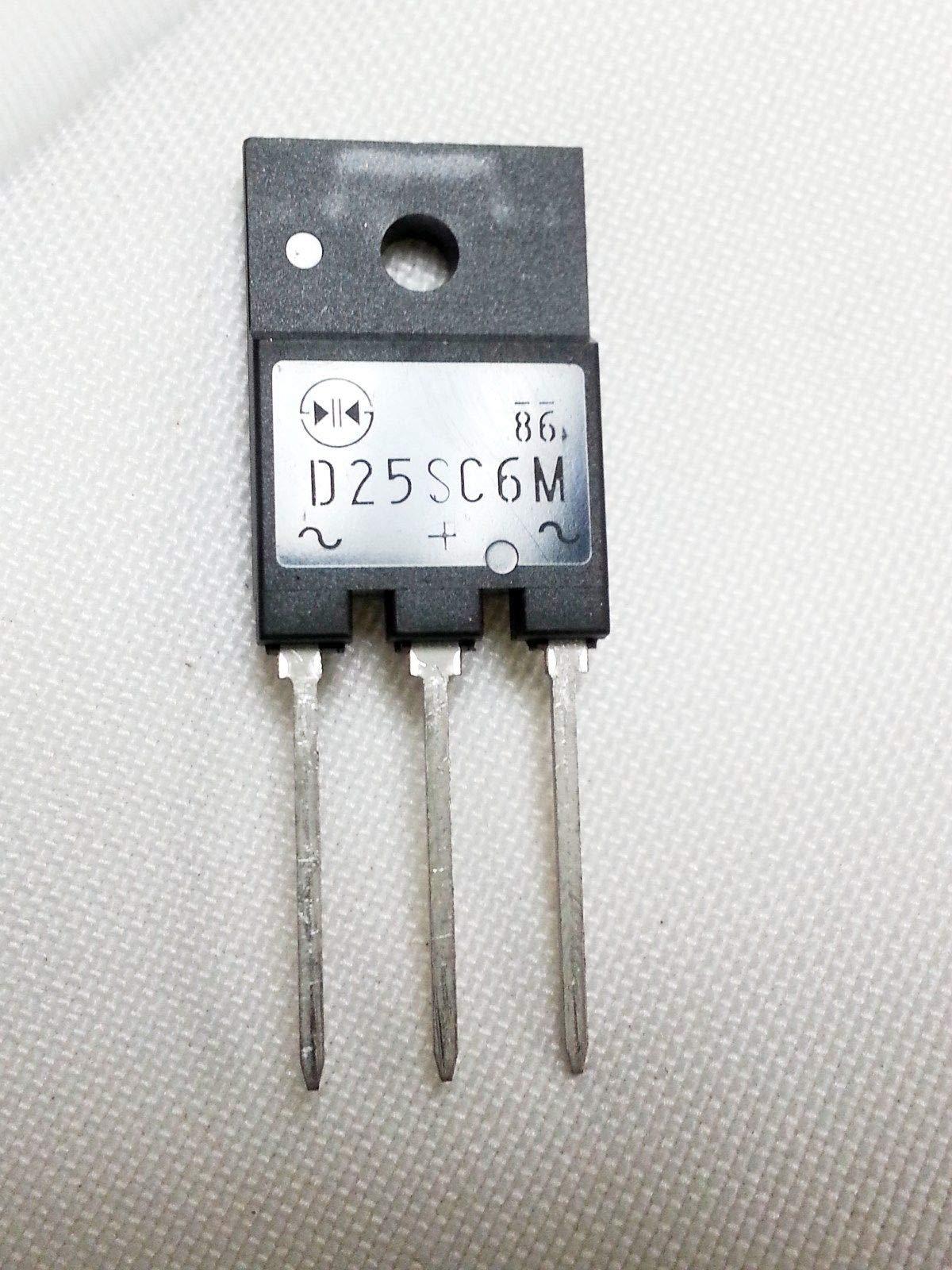 1PC D25SC6M + 1g of Heat Sink Compound