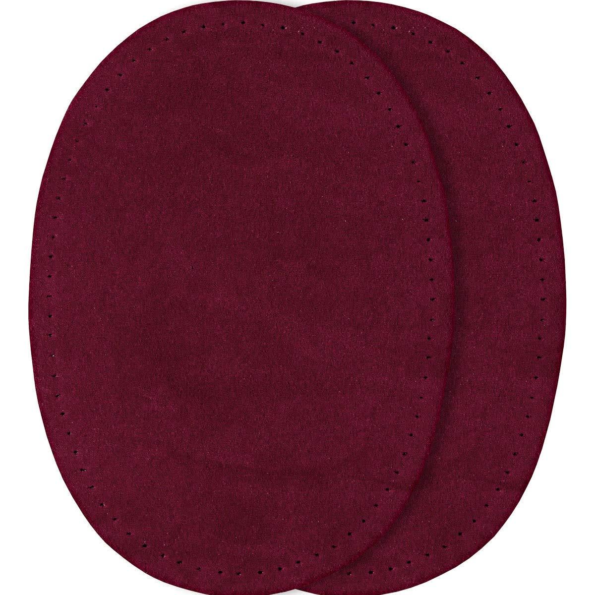 Rouge fonc/é Prym 14/x 10/cm Lot DE 2/Patchs en Imitation Daim pour Repasser//Sewing-on