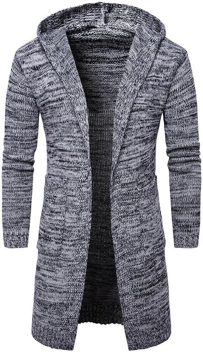 2018 herren Dicken Pullover Mantel Slim Fit Winter