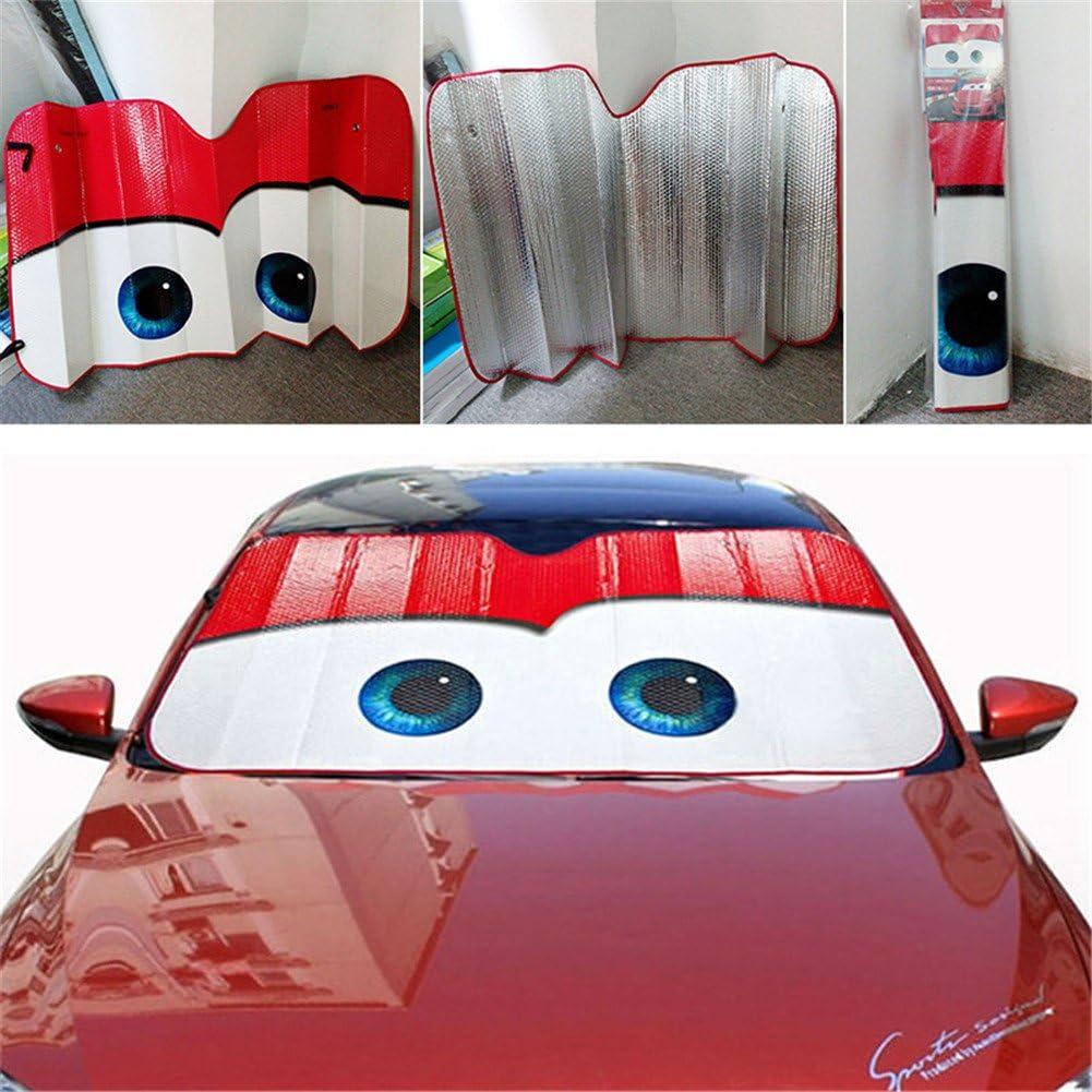 Parabrezza per Auto Protezione Raggi UV M GFHTH Winnie The Pooh Parabrezza Parasole Parasole per Auto Parasole Pieghevole Visiera Copertura Scudo con Ventose