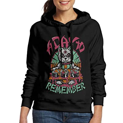 A Day To Remember Women's Pullover Hooded Hoodie Sweatshirt Black
