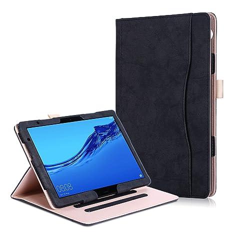 codice promozionale 76602 34293 Huawei MediaPad T5 10 / M5 Lite 10 Cover - Custodia in Pelle PU con  Funzione Supporto per Huawei MediaPad T5 10 / M5 Lite 10 Tablet Display da  10.1