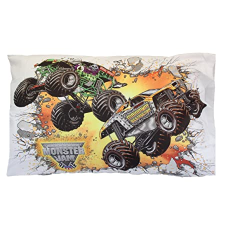 Amazon.com: Monster Jam Pillowcase Truck destrucción ...